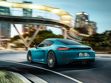 The new 718 Cayman S. For the sport of it.