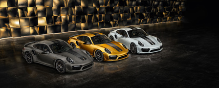 911 Turbo S Exclusive range.