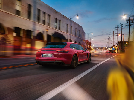 The new Panamera GTS Sport Turimso